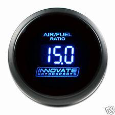 Innovate 3793 Motorsports Blue DB Gauge Kit Wide Band AFR Meter 52mm