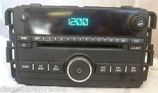 09 10 11 12 13 Chevrolet Impala Radio CD Player  Aux Input 20756283 BF 4018