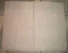 1123  Zorlu USA Tan Raised Check Standard Pillow Sham Case Cover
