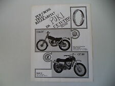 advertising Pubblicità 1971 MOTO MONTESA COTA 247/CZ 360