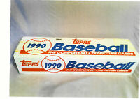 TOPPS 1990 BASEBALL TRADING CARDS- COMPLETE SET 792 CARDS- NEW