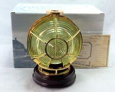 Harbour Lights Retired 2002 Fresnel Lens 3 ½ Order #650 W/ Box Pkg Certificate