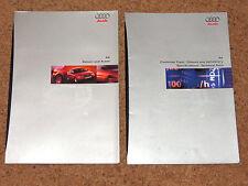 1996 AUDI A4 SALOON & AVANT Sales Brochure & Colours and Tech Data Brochure