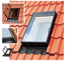 Velux Ausstiegsfenster GVK 0000Z 46 x 61 cm Polyurethan Schwarz Dachausstieg