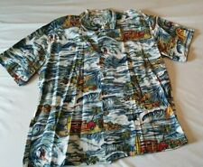 ab429d94 Toes on th Nose Hawaiian Men's Alohoa Surfing Shirt Size XL 100% Cotton