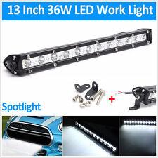 Slim 36W CREE 12LED Waterproof Car Off-Road Working Lamp Bar Spotlight  13''
