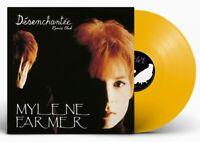 Mylene Farmer Maxi 45Tours vinyle Désenchantée Exclusivité couleur Jaune