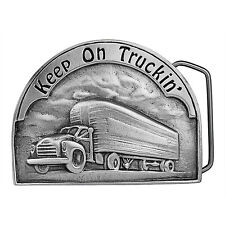 Keep on Truckin' Truck Belt Buckle 05-Q99 IMC-Retail