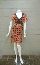 good condition - SABA size 6-8 silk dress + separate slip