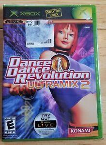 Microsoft Xbox Dance Dance Revolution DDR Ultramix 2 video game new sealed 2004