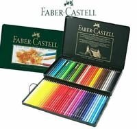 Faber Castell Polychromos Artists' Pencils Tins 60 72 120 Multi Colors Sets