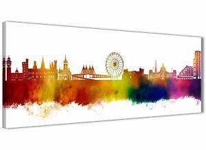 Cardiff Skyline Canvas Wall Art Print - 17 Colours Available - 94cm wide