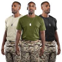 3 Pack Military Green Sand British Army Mens Tshirt Camo T shirt Combat Fishing