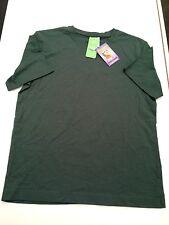 BNWT Teenage Sz 14 Bottle Green Target Brand Short Sleeve School Uniform T Shirt