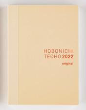 Hobonichi Techo Original 2022 Planner A6 Notebook January Start Sunday Start