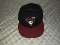 Arizona Diamondbacks  -  Team Issued Spring Training Hat / Size 7 3/8