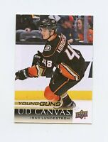 18/19 UPPER DECK YOUNG GUNS CANVAS ROOKIE RC #C216 ISAC LUNDESTROM DUCKS *61343
