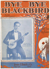 BYE BYE BLACKBIRD, COMPLETE MUSIC, FIRST EDITION 1926