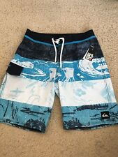 NWT QUIKSILVER EDDIE AIKAU WOULD GO HERITAGE SIZE 32 BOARD SHORTS W/FREE STICKER