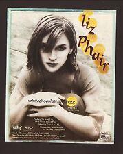 Liz Phair-1998 whitechocolatespaceegg Advertisement