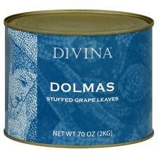 Divina Dolmas Stuffed Grape Leaves, 4.4 lb. Can