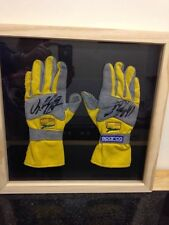 Jordan Ralph Schumacher Signed Racing Gloves With Coa  rare