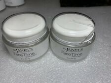 X2 Dr Janets Face Time Face Cream 2oz Nature Products Anti Aging Day Night-2 Lot