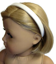 """White Headband made for 18"""" American Girl Doll Clothes Accessories"""