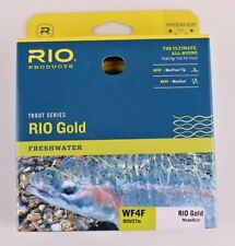 Rio Gold Fly Line WF4F Moss Gold Free Fast Shipping 6-21228