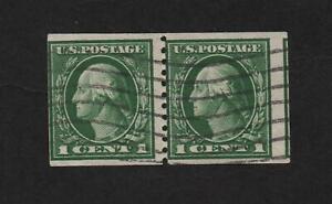 USA 443 Pair (Perf 10 Vert, Type I) used  ..  2021 Scott=$135.00