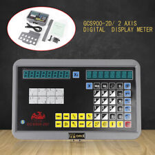 Lcd Digital Display Digital 2axis Readout Dro Linear Scale For Cnc Milling Lathe