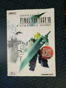 Official Final Fantasy VII 7 Strategy Guide Brady Games 1997 Playstation