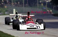 Niki Lauda BRM P160E Italian Grand Prix 1973 Photograph 1