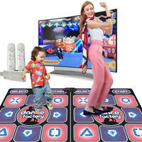 Double Human Gaming Dance Blanket Dancing Somatosensory Mat + 2 Handles For Home