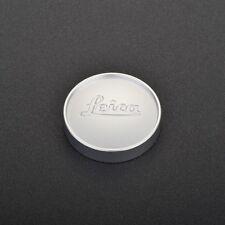 Leica E43 Silver/Black Chrome Front Lens Cap fr 50mm f:1.4 Summilux Lens Version