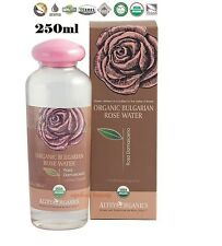 Pure Organic ROSE WATER Bulgarian Flower 100% Natural USDA CERTIFIED Bio 250ml
