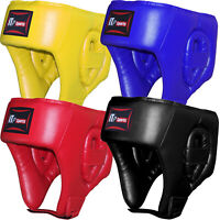 Junior Boxing Head Guard Gear Leather Martial Arts Kids / Children