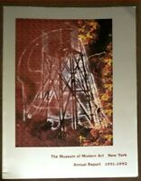 ☆RARE BOOK(only1eBay)MOMA MUSEUM OF MODERN ART-ILLUSTRATED ANNUAL REPORT 1991-92