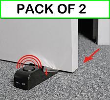 (PACK OF 2) TL74053 DOORSTOP ALARM with vibration movement sensor