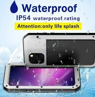 Shockproof Metal Waterproof Hard Back Case Cover For iPhone 11 Pro 7 8 XS Max XR