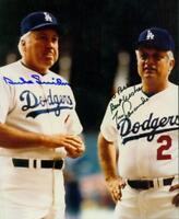 Original Autographs JSA, Duke Snider HOF and Tommy Lasorda HOF of the LA Dodgers