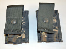 Lot of 2 - USGI MOLLE II 40mm Grenade Pouch ACU *NEW*
