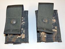 Lot of 2 - USGI MOLLE II 40mm Grenade Pouch ACU *NEW*