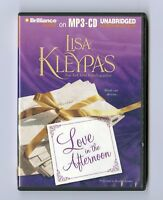 Love in the Afternoon by Lisa Kleypas - MP3CD - Audiobook