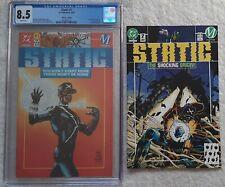 Static #1 & #2 (1993) CGC 8.5 #1 - 1st Static ! Collectors Ed. Key Origin $0.99
