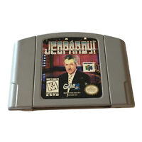 Jeopardy Authentic N64 Nintendo 64, 1998 Alex Trebek Tested - Working