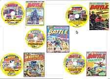 Battle, Battle Picture, Battle Action Force 1-600 +17 Specials on Comics 5 DVD s