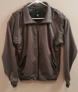686 Mens Medium M Gray Jacket Zip