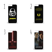 Personalised Name Initials Star Wars characters e78 phone case iPhone Galaxy