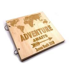 Personalised Large Adventure Travel Holiday Scrapbook Photo Album LWOD-2